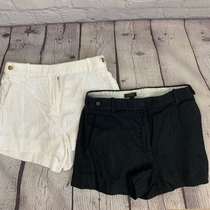 Bundle of J. Crew linen shorts EUC